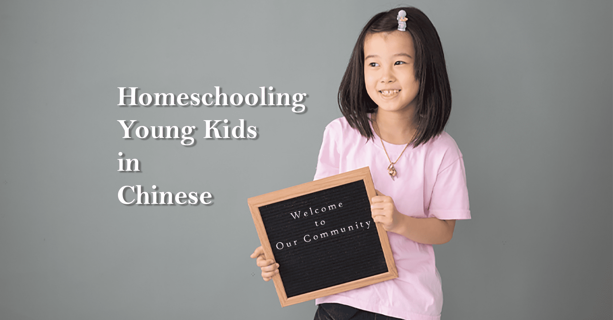 Homeschooling Young Kids in Chinese Facebook Group