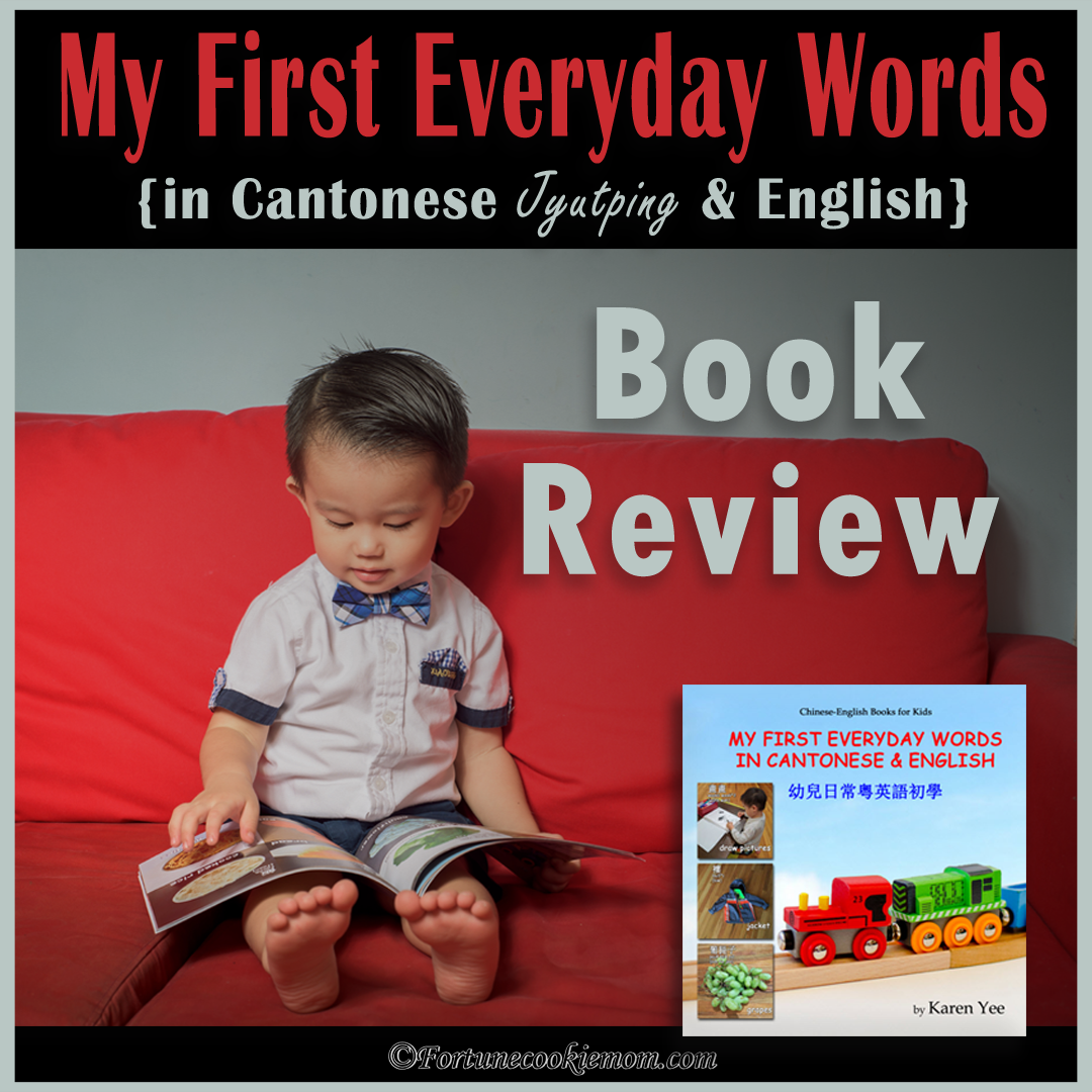 A Book Review: A Cantonese Picture Book for Your Little Kids