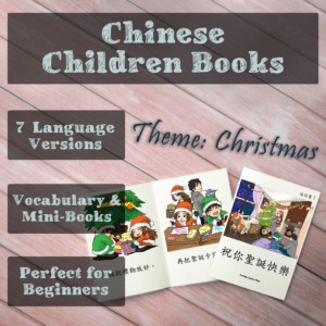 Christmas Chinese children books