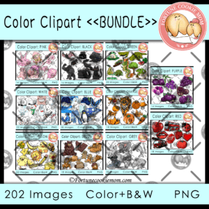 color clipart: bundle