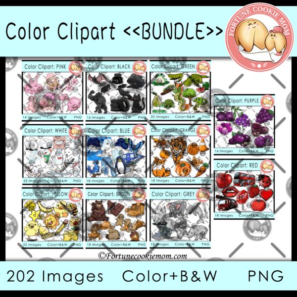 color clipart: bundle