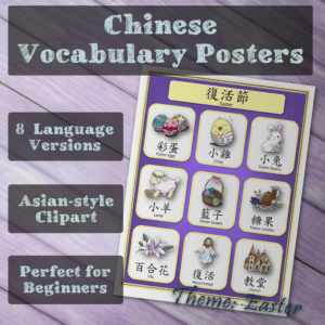 Easter vocab posters