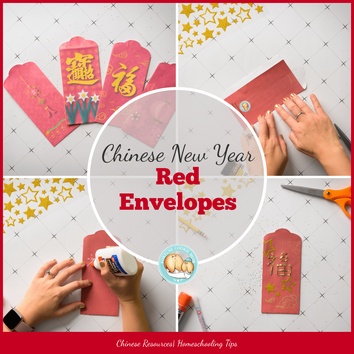 DIY Chinese New Year Red Envelopes like a Pro
