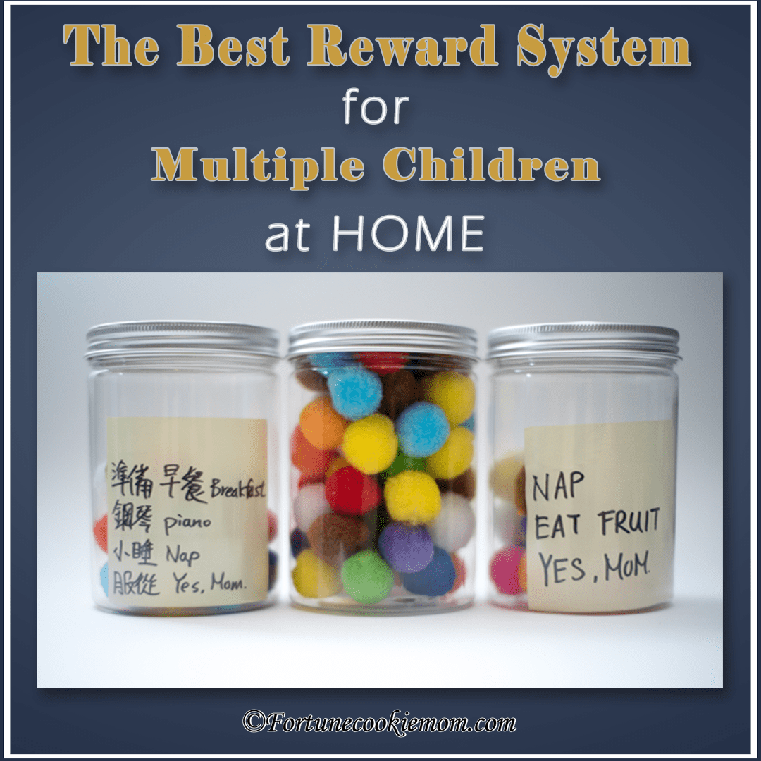 The Best Reward System for Multiple Young Children at Home