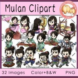 Mulan clipart