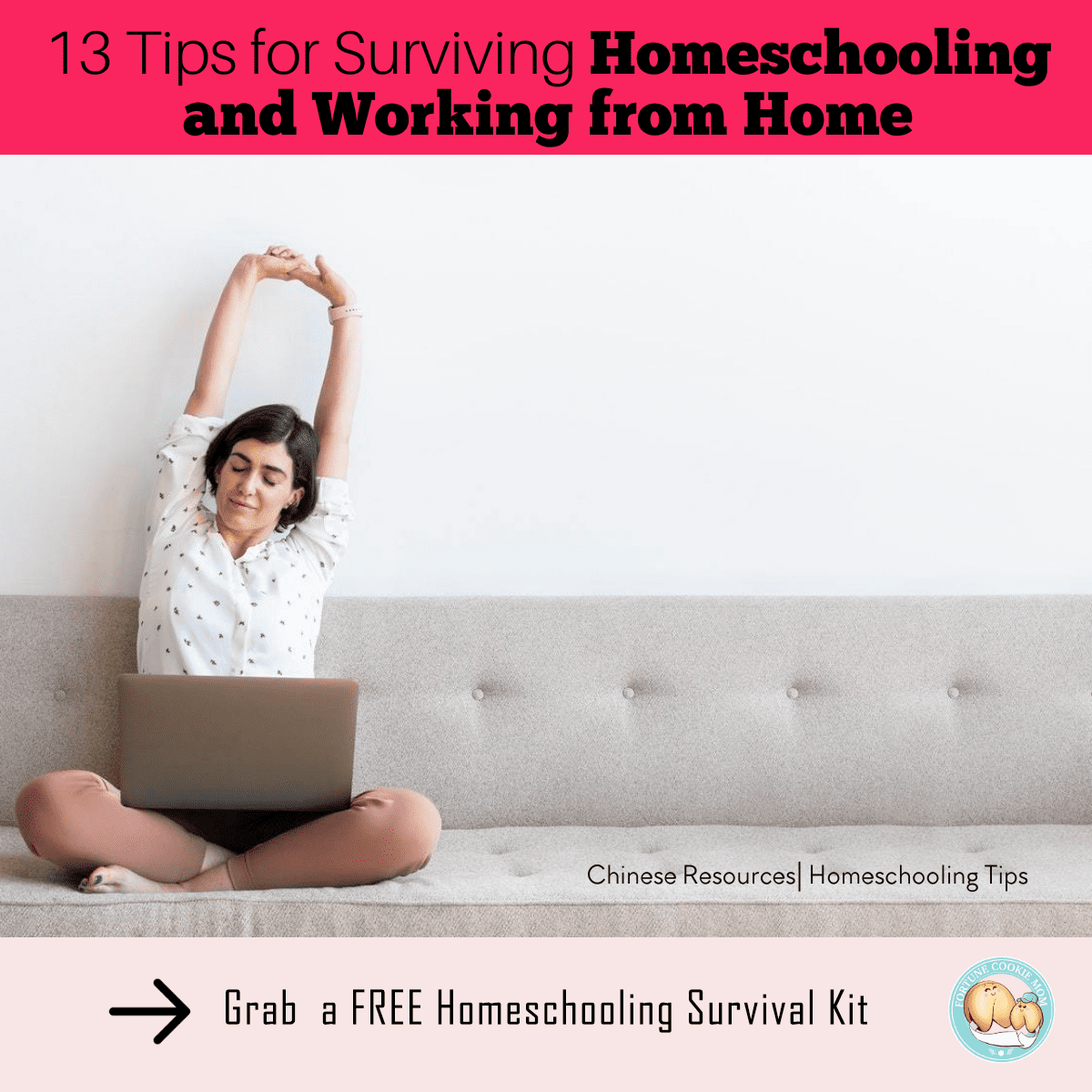13 Tips for Surviving Both Homeschooling and Working from Home