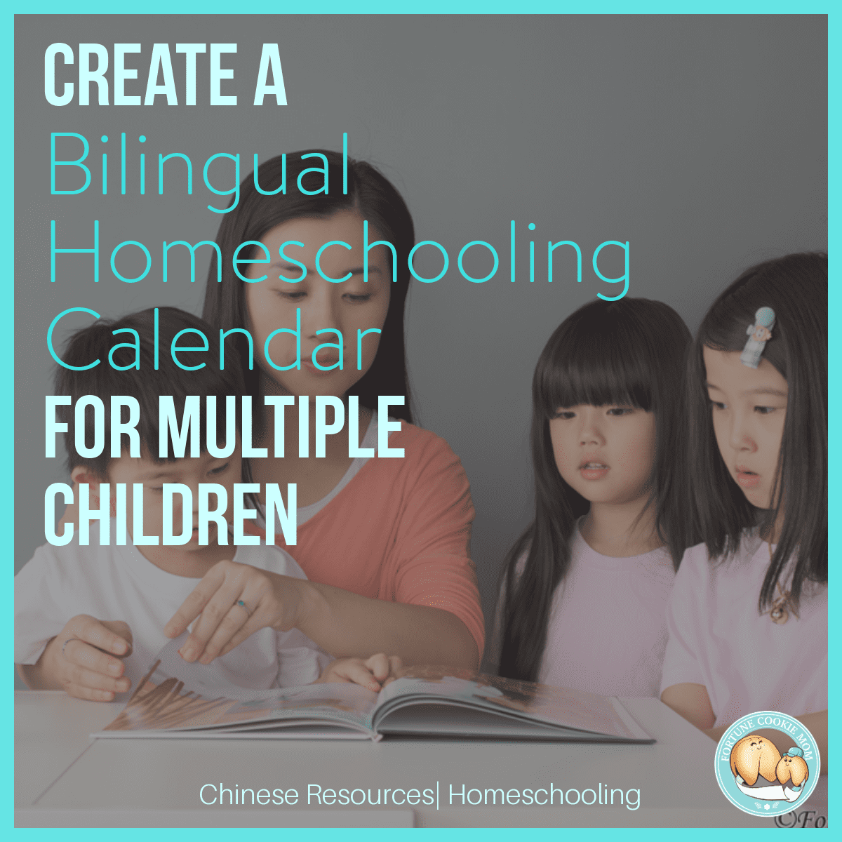 Create a Bilingual Homeschooling Calendar for Multiple Children