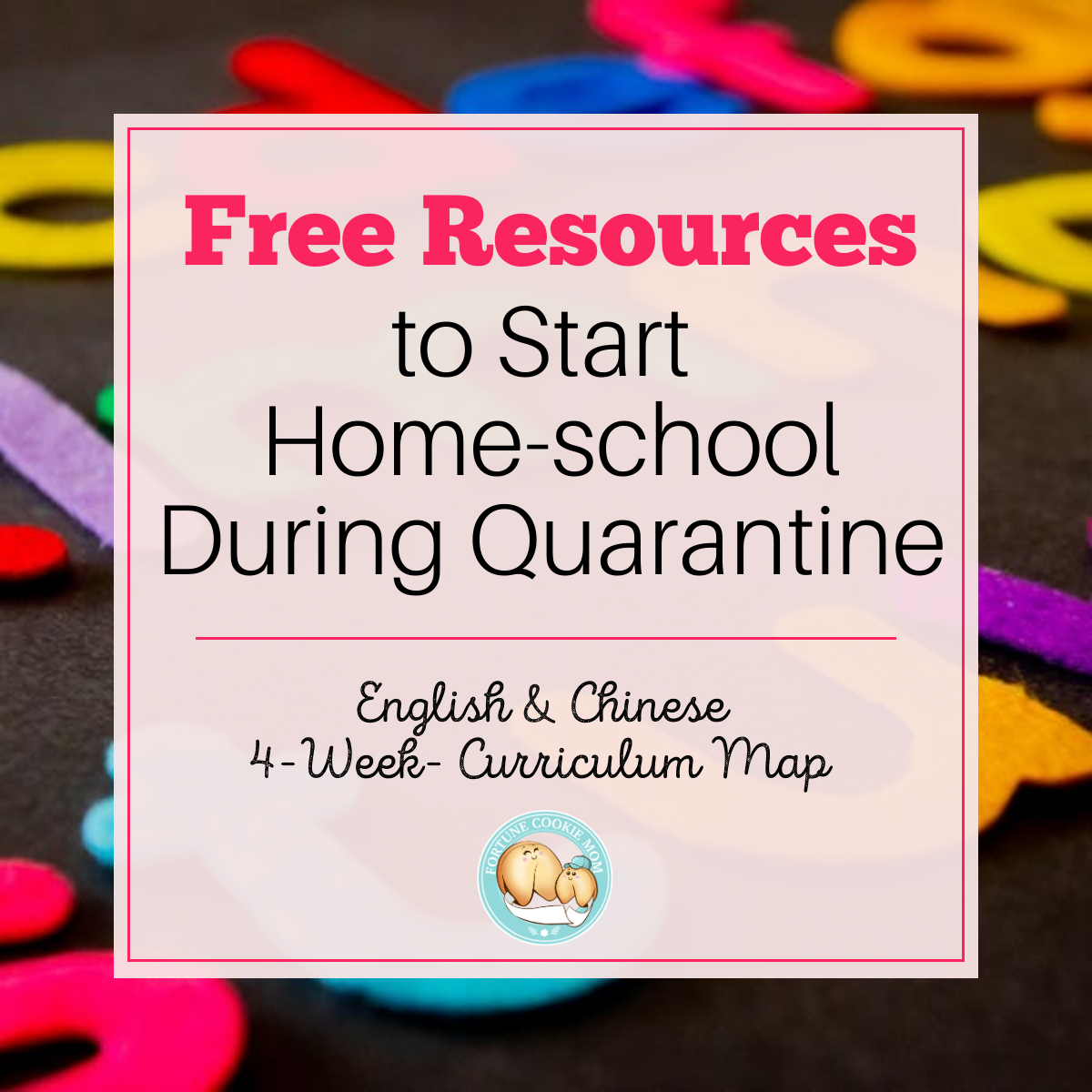 Free Curriculum Maps to Start Home-school During Quarantine