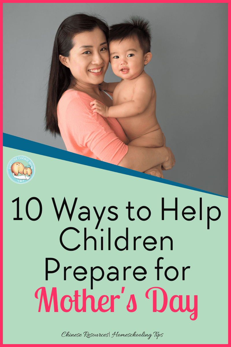 10 ways to help children prepare for Mother's Day