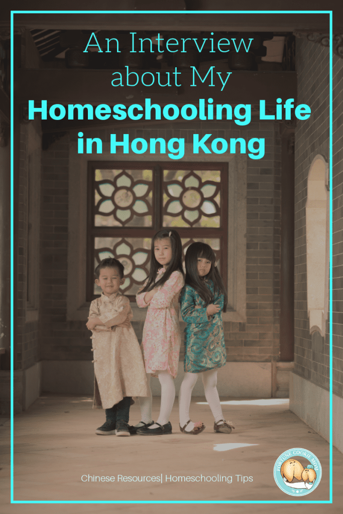 an interview about my homeschooling life in Hong Kong