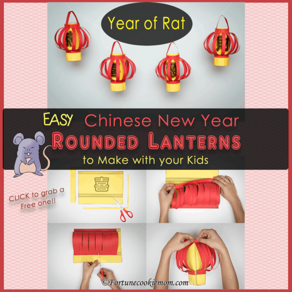 Chinese New Year lanterns- year of the rat